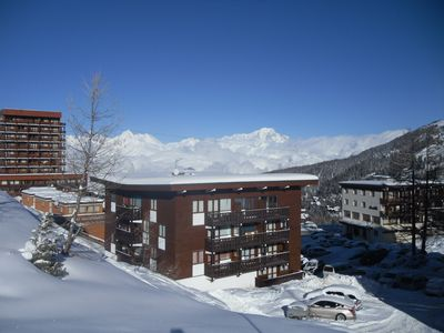 Photo for PLAGNE CENTER 3 rooms, comfort 48 m2 8 people- FOOT SLOPES