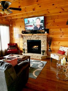 Photo for Views!  New cabin!*Super GAME ROOM! Near DollyWood & Gatlinburg *FP *Resort pool