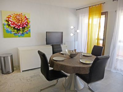 Photo for One bedroom Apartment, sleeps 4 in Sainte-Maxime with WiFi