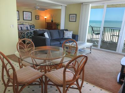 Photo for SUMMER RATES! 8th Floor Gulf Front Condo at Estero Beach And Tennis Club. Heated Resort Sized Pool!
