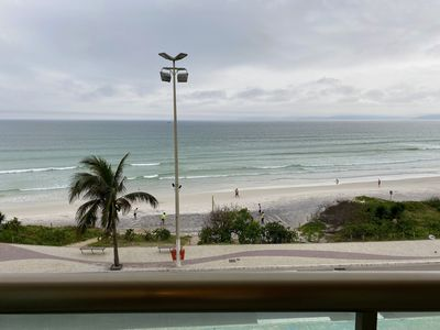 Photo for Sea front apartment - Praia do Forte, in its best position.