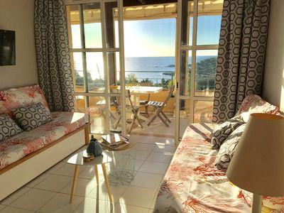 Photo for Cap Esterel Village 3 rooms with terrace, exceptional sea view