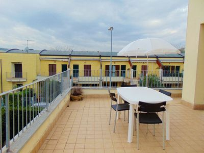 Photo for N220 - Numana, three-room apartment with terrace and swimming pool