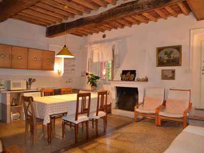 Photo for splendid apartment in a farmhouse with a large swimming pool 6 km from Lucca