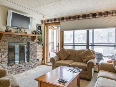 Photo for Comfortable condo. Views. Spacious. Renovated. Best location !   Sleeps 8-10.