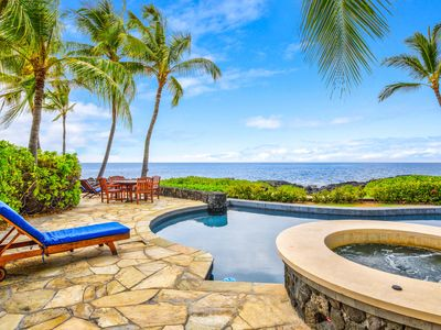 Photo for Oceanfront Home | Gated Kona Bay Estates | AC in Bedrooms | Starts at $995/n