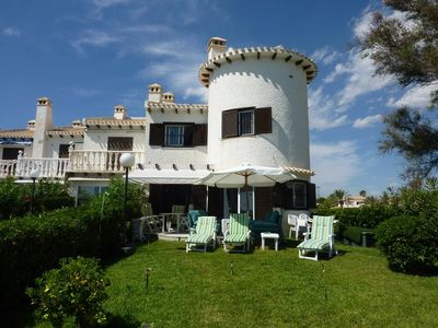 Photo for Fantastic location !! - Water Front Beach Villa 3 bedrooms & large garden