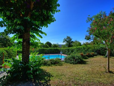 Stunning private villa for 8 guests with private pool, WIFI, TV, balcony, panoramic view and par...