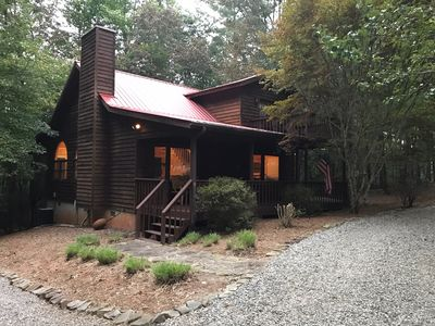 Photo for Brand New to VRBO !  A very cozy cabin for your next mountain trip !