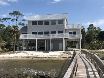 Photo for Pet Friendly, Upscale Bay House with long Dock near the Cut, Boat Lift!