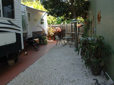 Photo for Miami Spacious Camper with private patio and parking sleeps 4 - comfortable