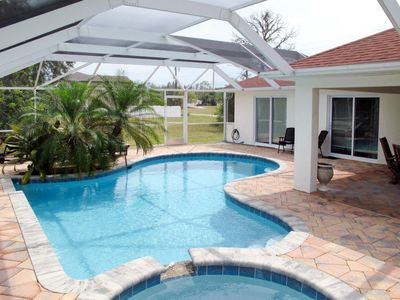 Photo for Matlacha Shores Holiday Home, Sleeps 8 with Pool, Air Con and Free WiFi