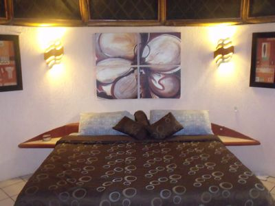 Photo for COCOS CABANAS,KING BUNGALOW, 4 Miles from Playa del Carmen,1 Mile from the Beach