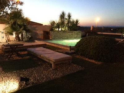 Photo for Magnificent contemporary house 5 mm from the beaches with heated pool