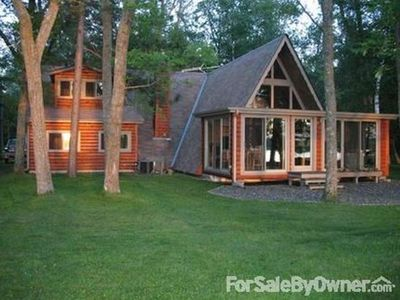 Photo for Gorgeous family lake-home retreat on Bone Lake in NW Wisconsin!