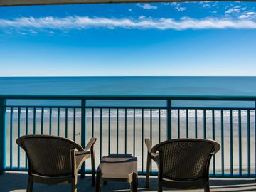 Paradise Resort, the name says it all! Enjoy our Oceanfront 3 BR Condo!