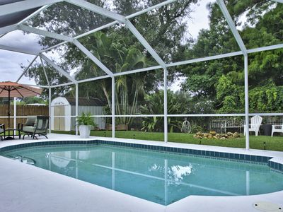 Photo for Tropical Escape: 3 Bedroom Pool Home In Nokomis: Nokomis 01