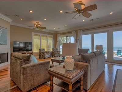 Photo for THANKSGIVING OPEN*Cape San Blas*Gulf Front*7 bed/7 bath*Elevator*Kids Level