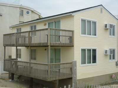Photo for Ocean front duplex, LBI, NJ - Second Floor
