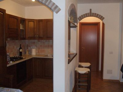 Photo for Central apartment with parking and a place to eat outside of 75sqm