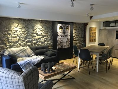 Photo for charming fully renovated apartment - CAUTERETS Hyper Village center