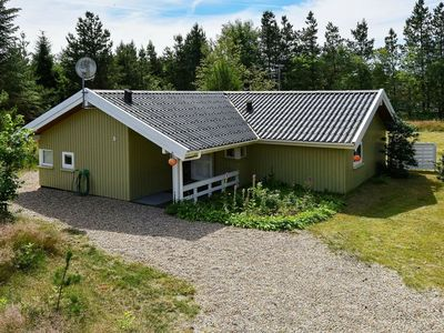 Photo for Country Holiday Home in Jutland with terrace and gorgeous views