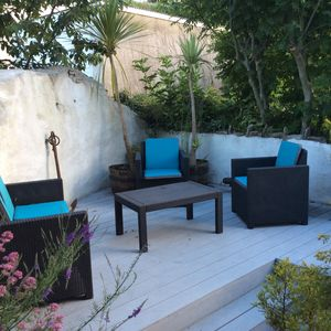 Out side Decking & Seating Area