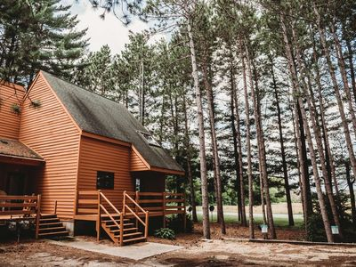 Photo for Beautiful pine views any season, come delight in all the things to do in Wisconsin Dells!