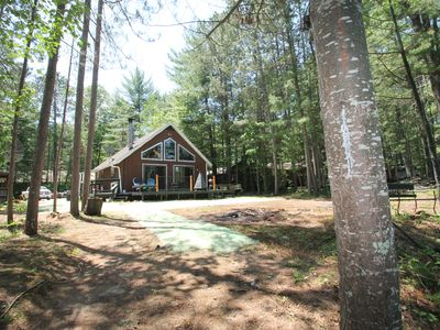 Photo for Lakefront Cabin on Lower Post Lake, Renovated in 2020