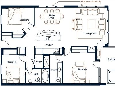 Layout 1304 Sq. Ft.