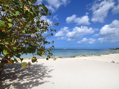 Photo for Incredible family friendly Beachfront Villa; Pool, Staff, amazing snorkeling