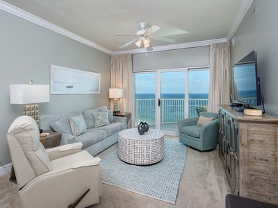 Photo for GULF FRONT 3 bed/2 bath* Corner unit with Expansive Views*  19th floor