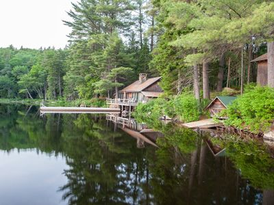 Photo for Cozy Waterfront Cabin - C
