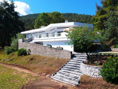 Photo for Villa Peluna - Amazing, Spacious Villa with Air Conditioning and Sea Views! - Free WiFi