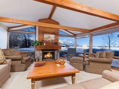Photo for Enjoy Grand Teton Views at this Golf Creek Condo! Not far from Jackson & GTNP
