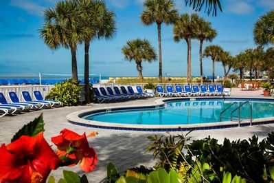 If you don't feel like going to the beach or leaving the property, don't worry, you may still enjoy and get sunbathed by the pool