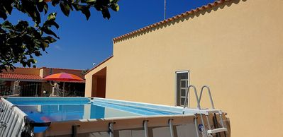 Photo for 4-person apartment with outdoor pool SV033B