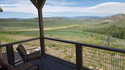 Photo for 3 Bd 2.5 Ba, Amazing Views, Walking Distance to Kicking Horse Lift Granby Ranch