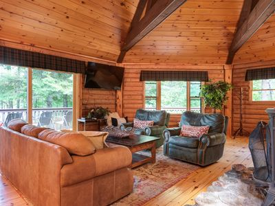 Photo for NEW LISTING! Lakefront home with private dock