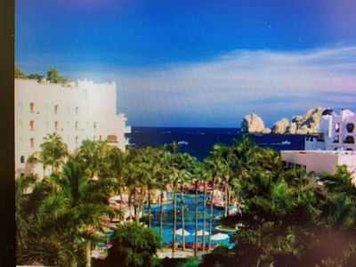 Photo for Stunning Oceanfront 2 bed/2 bath Royal Suite Pueblo Bonito Rose 6/17-24 ONLY