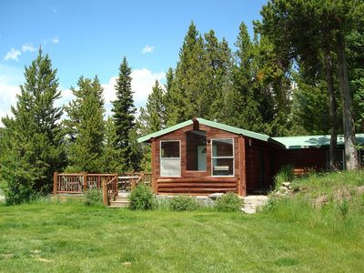 Photo for 1BR Cabin Vacation Rental in West Yellowstone, Montana