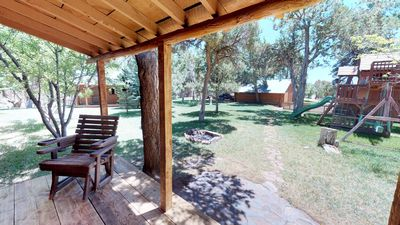 Photo for Western Log Cabin with Modern Amenties and Seperate Guest House