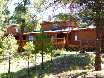 Photo for Unbeatable Views, Privacy, Location, Quiet, Mins to Town w/ Wrap Around Deck