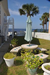 Photo for BABY BAHAMA LOWER COTTAGE, Beach Front,  2 to 6 guests, 2 Bd 2 Baths, Big Deck