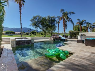 Photo for PGA West, on the course, heated pool, pool slide, 99 game arcade+