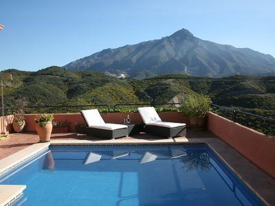 Photo for Villa With Spectacular Views Of Sea And Mountains, Private And Tranquil Setting