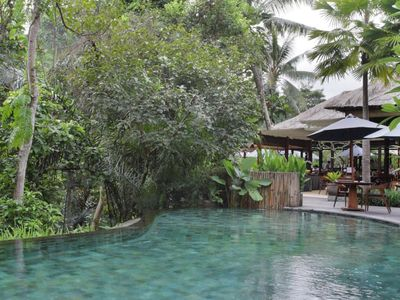 Photo for Private Room in a Valley of Ubud, Feel The Tranquility of Ubud Riverside