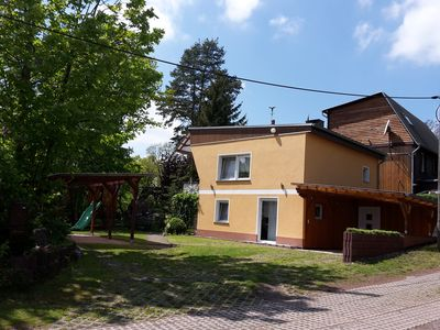 "Photo for Holiday house ""Am Mansfelder pond"" 3 rooms on about 65 square meters + large terrace"