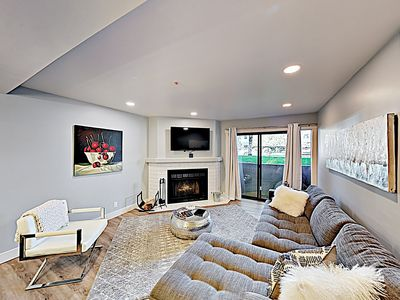 Photo for Remodeled Luxe Getaway w/ Fireplace & Hot Tub - Half-Mile to Ski Resort