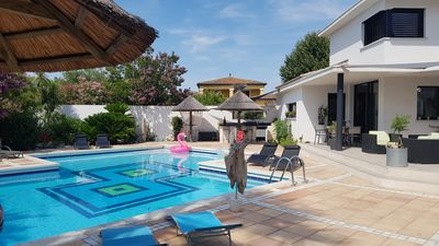 Photo for VERY BEAUTIFUL CONTEMPORARY VILLA WITH LARGE SWIMMING POOL
